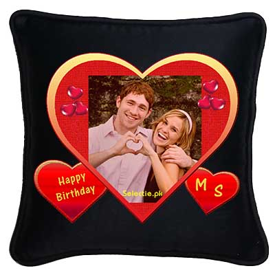 Lahore Pakistan Send Picture Printing Pillow Cushion Birthday Gifts To
